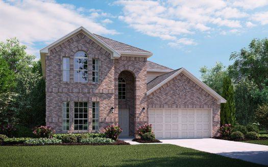 Lennar Preston Hills subdivision  Frisco TX 75035