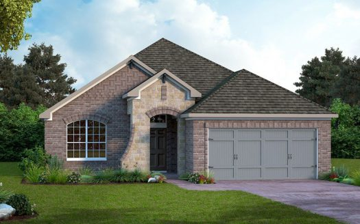 David Weekley Homes Prairie Oaks subdivision 709 Bent Brook Road Aubrey TX 76227
