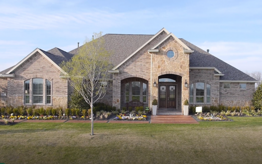 Chesmar Homes Dallas Southridge Estates subdivision  Allen TX 75002