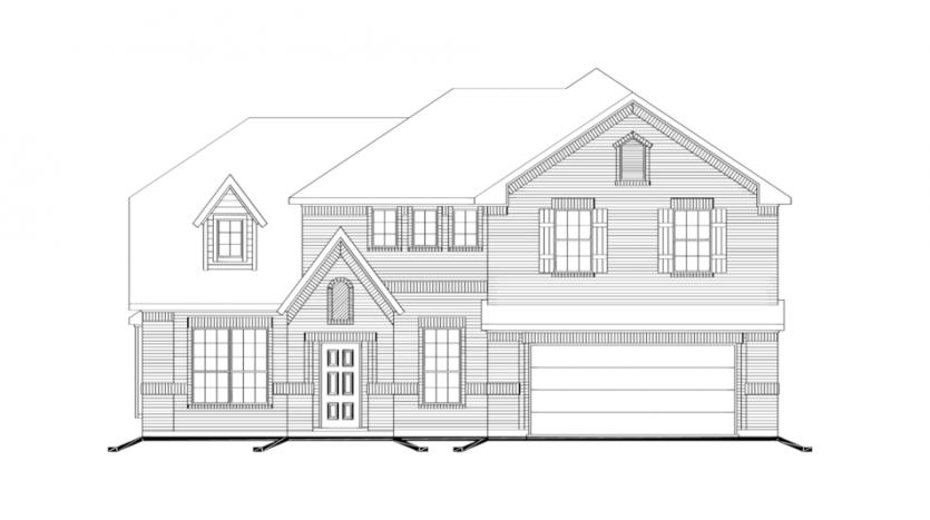 Impression Homes North Creek II subdivision  Melissa TX 75454