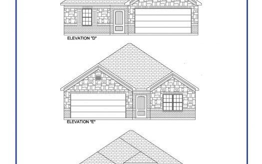 Altura Homes Creek Crossing subdivision  Melissa TX 75454