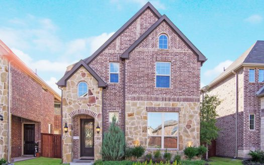 Impression Homes Villas of Stone Hollow subdivision  McKinney TX 75070