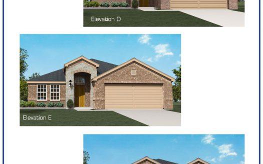 Altura Homes The Meadows subdivision  Aubrey TX 76227