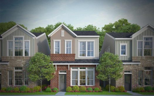 David Weekley Homes Parkside at Trinity Green - Gardens subdivision  Dallas TX 75212