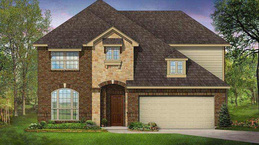 Bloomfield Homes Oak Crest Estates subdivision  Euless TX 76040