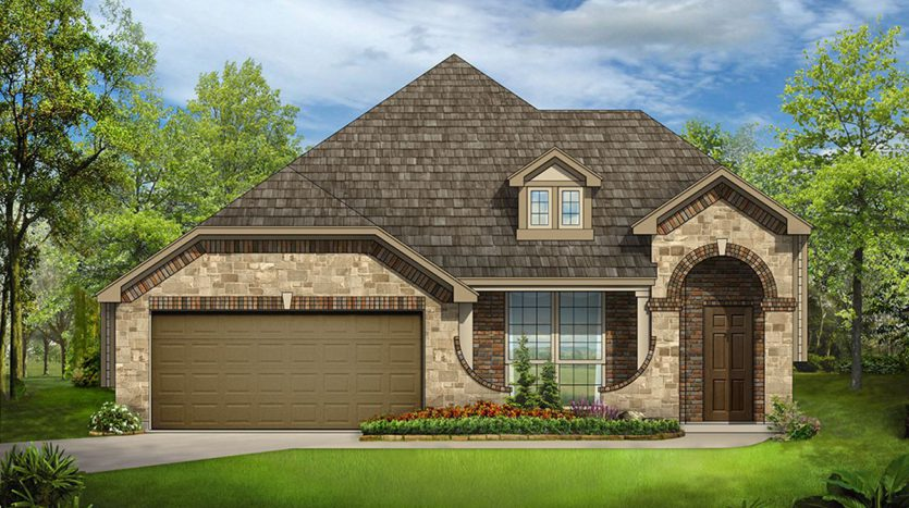 Bloomfield Homes Heartland subdivision 3602 Monticello Way Forney TX 75126