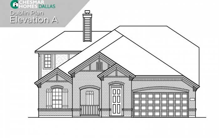 Chesmar Homes Dallas Savannah – Executive Series subdivision  Aubrey TX 76227