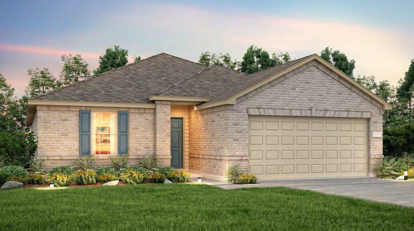 Centex Homes Travis Ranch subdivision  Forney TX 75126
