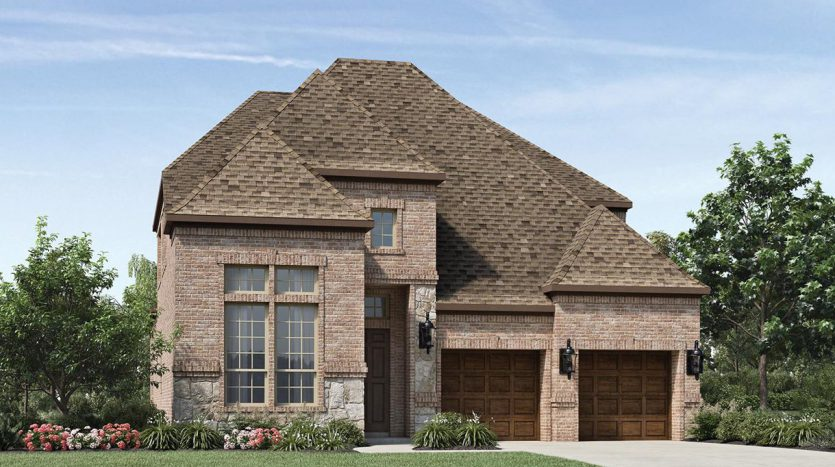 Toll Brothers Edgewood subdivision  Frisco TX 75035