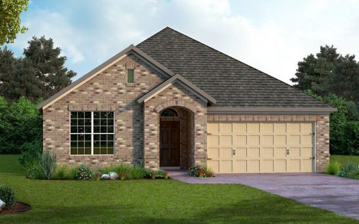David Weekley Homes Prairie Oaks subdivision 9513 Blue Stem Lane Aubrey TX 76227