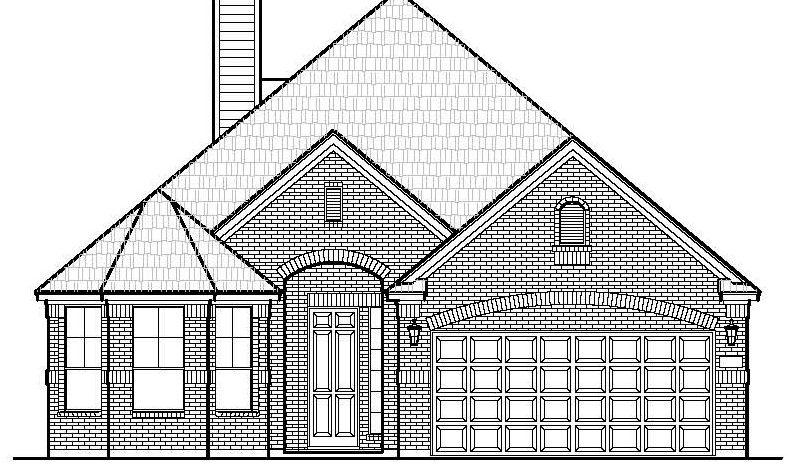 Chesmar Homes Dallas Savannah - Signature Series subdivision  Aubrey TX 76227