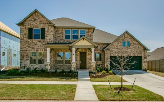 David Weekley Homes Harvest Orchard Classic subdivision  Argyle TX 76226