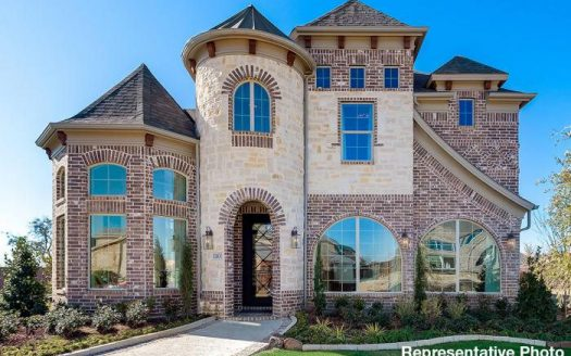 Grand Homes Silverleaf Estates subdivision  Irving TX 75063