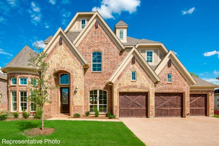 Grand Homes Estates at Miramonte subdivision  Frisco TX 75035