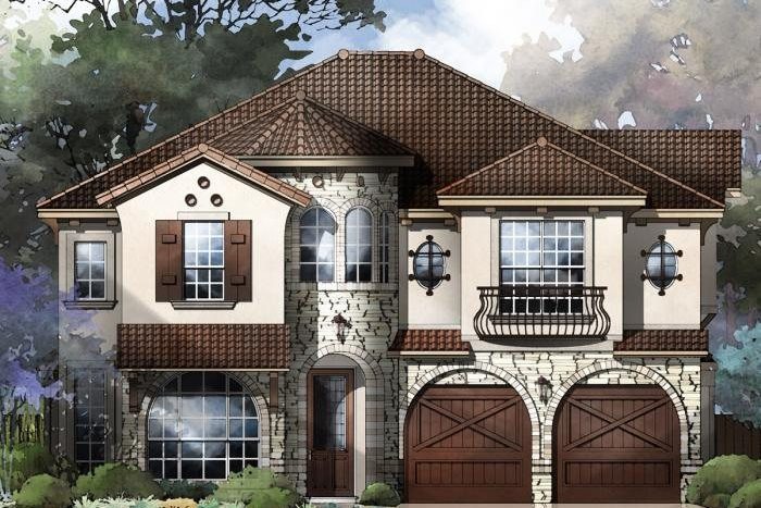 Grand Homes Lake Forest subdivision  McKinney TX 75070