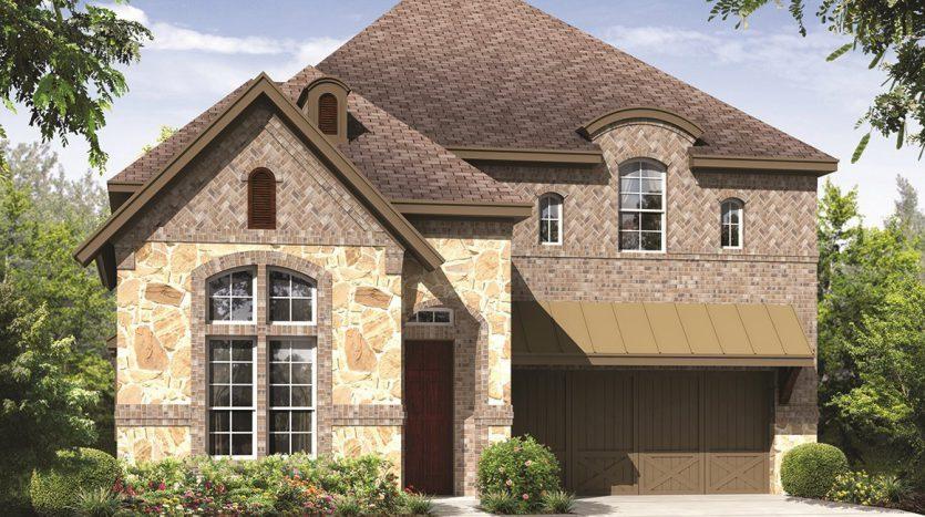 CalAtlantic Homes Villas at Stacy subdivision  McKinney TX 75070