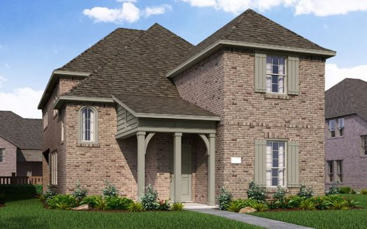 Normandy Homes The Village at Twin Creeks subdivision 1044 Stephen Street Allen TX 75013