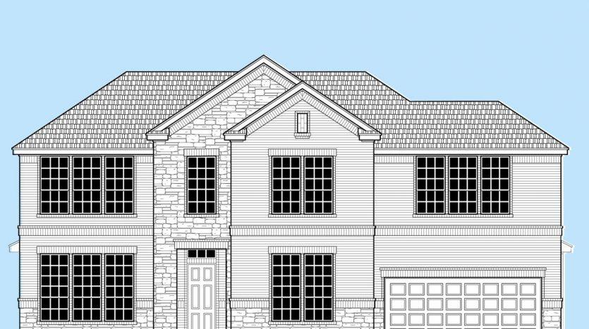 Landon Homes Lexington Country Heritage Series subdivision  Frisco TX 75035