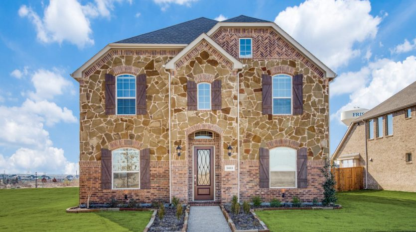 Village Builders Edgestone at Legacy Baysides subdivision  Frisco TX 75034