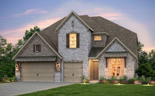 Pulte Homes Miramonte subdivision  Frisco TX 75035
