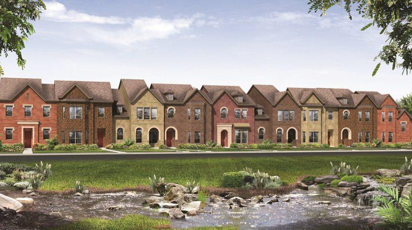 Lennar Majestic Gardens subdivision  Frisco TX 75034
