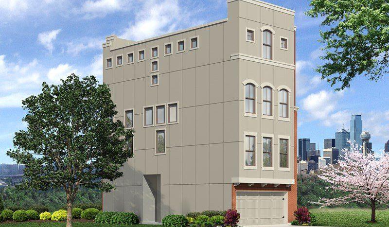 David Weekley Homes Southside Place subdivision  Dallas TX 75215