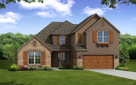 Beazer Homes Glen View subdivision  Frisco TX 75033