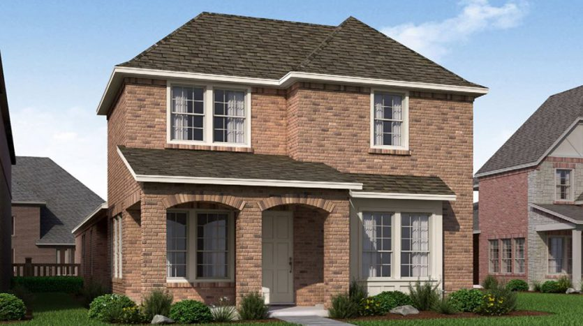 Normandy Homes The Village at Twin Creeks subdivision 1048 Fullerton Drive Allen TX 75013