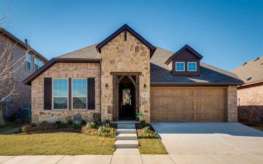 David Weekley Homes Highland Court Cottage subdivision  Flower Mound TX 75028