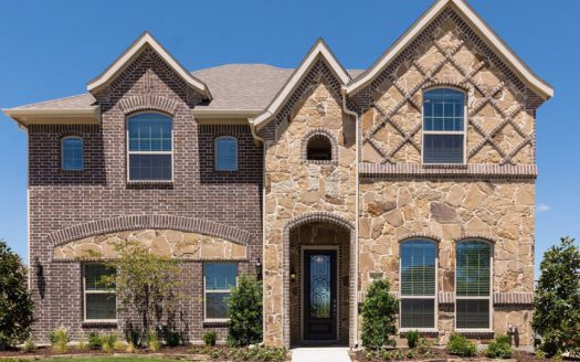Impression Homes Park Ridge subdivision  McKinney TX 75071