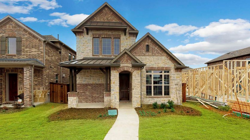 M/I Homes The Village At Twin Creeks subdivision  Allen TX 75013