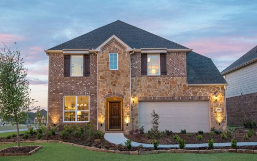 Pulte Homes Parkside subdivision  Celina TX 75009