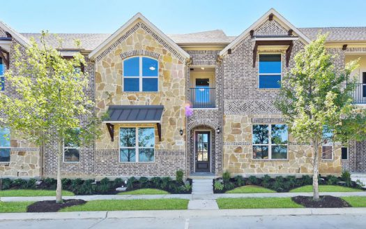 Impression Homes The River Walk at Central Park subdivision  Flower Mound TX 75028