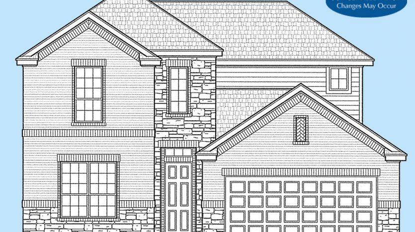 Landon Homes Lexington Country Impression Series subdivision  Frisco TX 75035