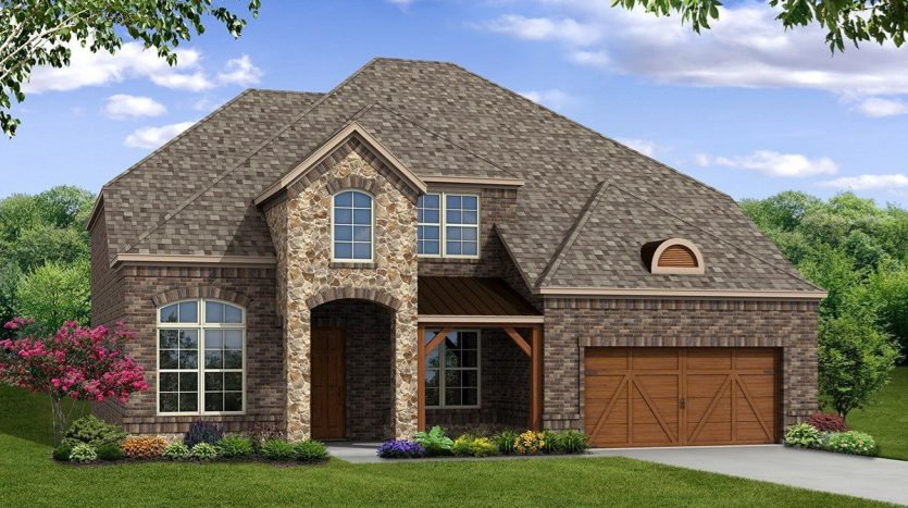 Beazer Homes Glen View subdivision  Frisco TX 75033