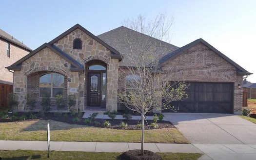 Chesmar Homes Dallas Savannah – Executive Series subdivision  Aubrey TX 76227