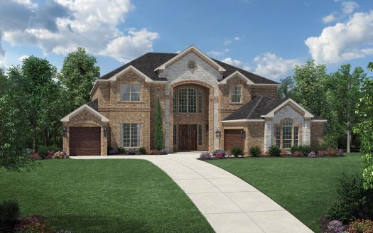 Toll Brothers Lexington Country - The Estates subdivision  Frisco TX 75035