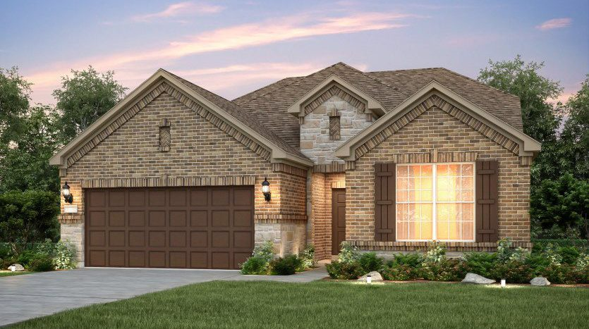 Pulte Homes The Vineyards subdivision  McKinney TX 75070