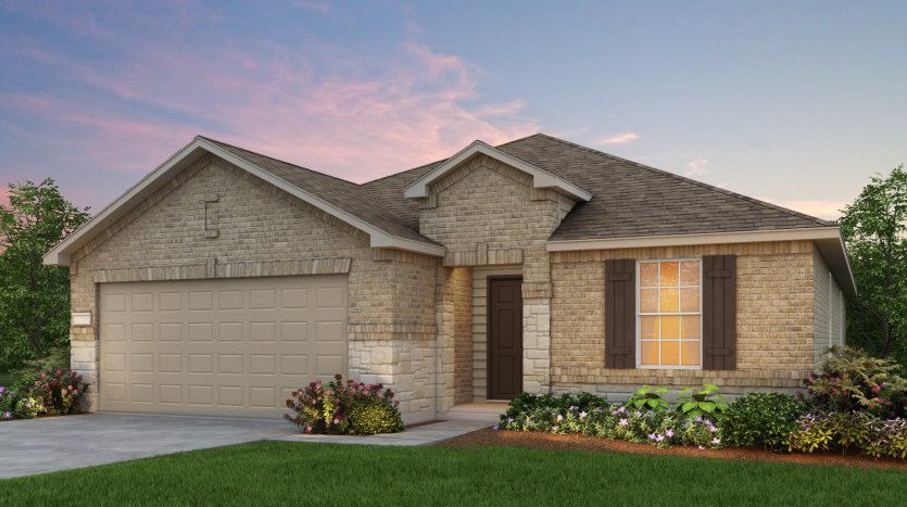 Centex Homes Travis Ranch subdivision  Forney TX 75126