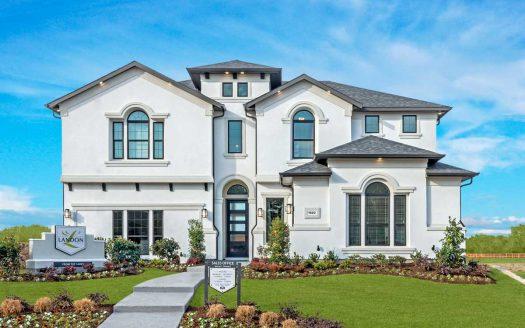 Landon Homes Walnut Springs at Twin Creeks subdivision  Allen TX 75013