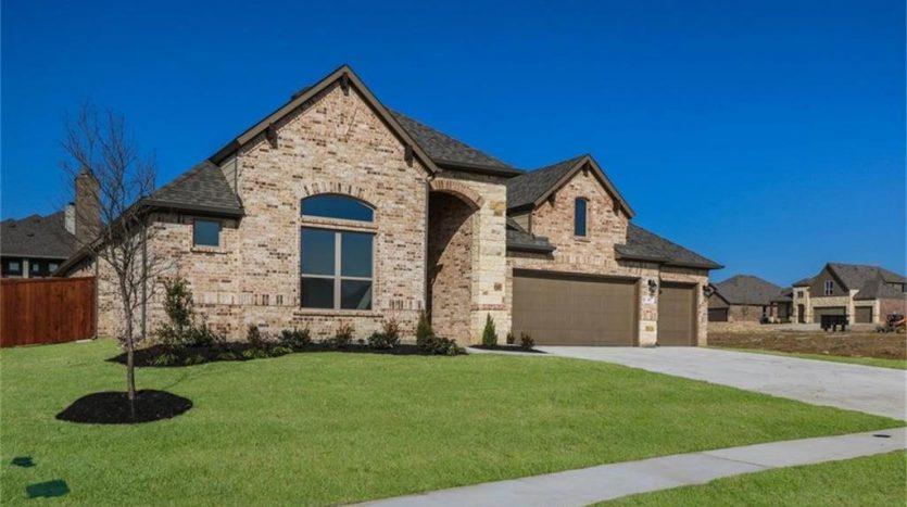 Pacesetter Homes Woodridge subdivision  Oak Point TX 75068