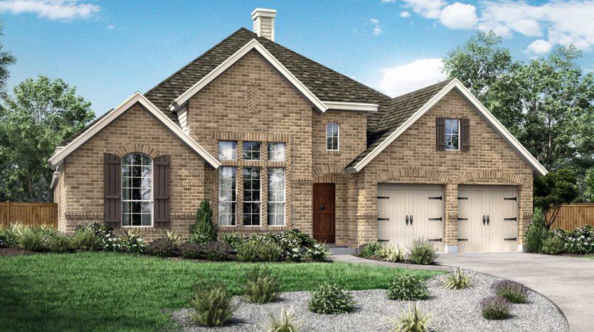 Pacesetter Homes Creek Crossing subdivision  Melissa TX 75454