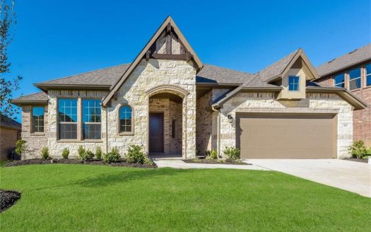 Pacesetter Homes Woodridge subdivision  Oak Point TX 75068