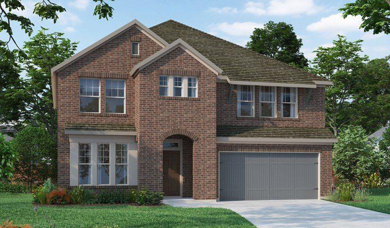 David Weekley Homes Prairie Oaks subdivision  Argyle TX 76226