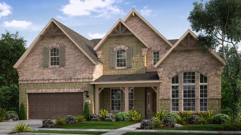 Taylor Morrison Somerset Park subdivision  Frisco TX 75033