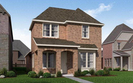 Normandy Homes Villas at Southgate subdivision  Flower Mound TX 75028