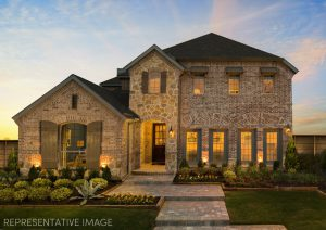 American Legend Homes Castle Hills - Southwest 50s subdivision  Carrollton TX 75010
