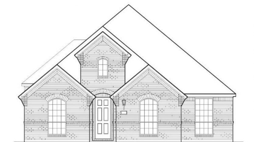 American Legend Homes Prairie View 55s subdivision  Frisco TX 75035