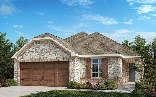KB Home Creeks on Hickory subdivision  Frisco TX 75034