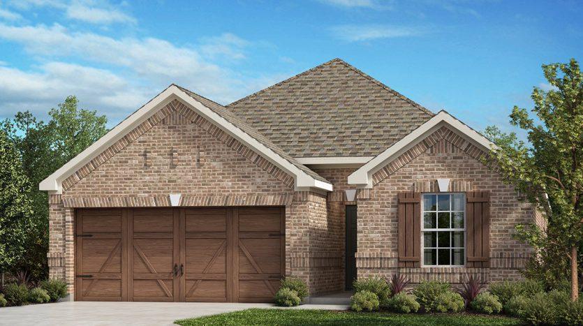 KB Home St. Andrews Park subdivision  Allen TX 75002